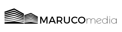 logo - white - banner - marucomedia - banner