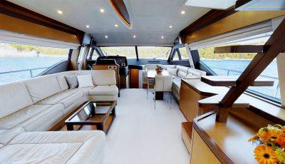 """M/Y """"Amy"""" – Ferretti 630 Motor Yacht 3D Model"""